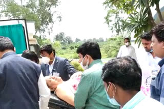 Minister Prem Singh Patel's health deteriorated