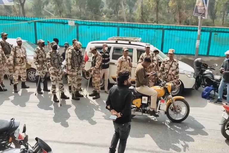 up stf raid on pfi office in shaheen bagh delhi