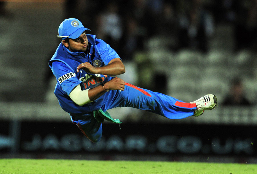 Suresh Raina did all the difficult things playing for India: Dravid